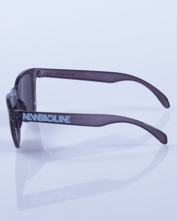 NEW BAD LINE OKULARY BLACK CLEAR 109
