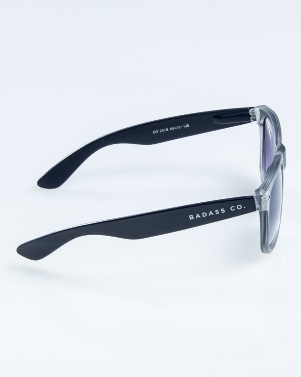 NEW BAD LINE OKULARY CLASSIC MAT CLEAR 853