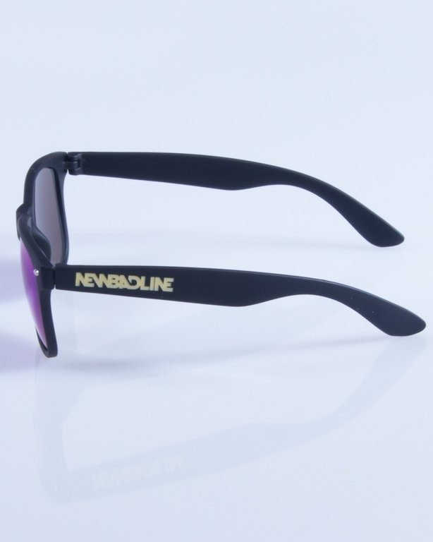 NEW BAD LINE OKULARY CLASSIC MIRROR RUBBER 337