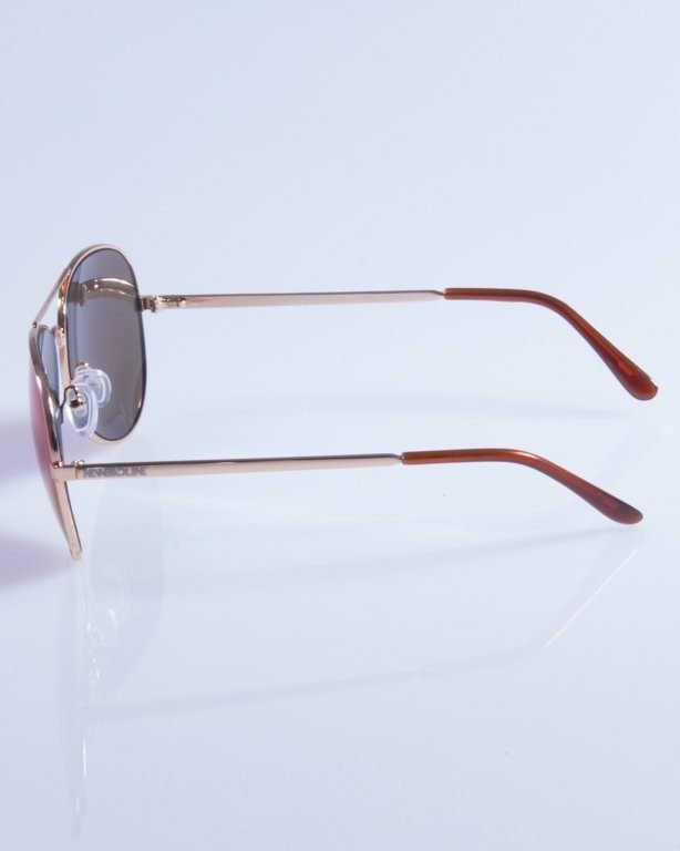 NEW BAD LINE OKULARY METAL MIRROR 441