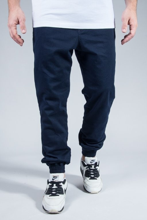 NEW BAD LINE PANTS CHINO JOGGER BASKET NAVY