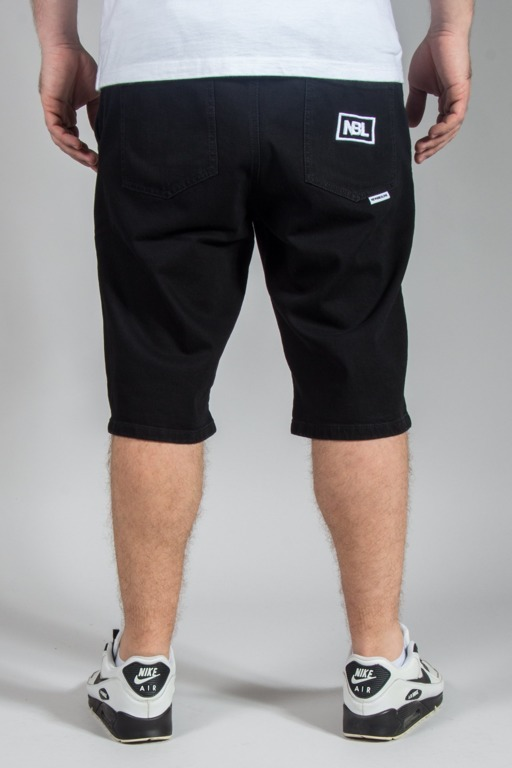 NEW BAD LINE SHORTS JEANS ICON BLACK