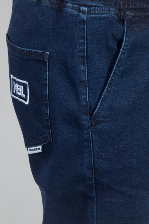 NEW BAD LINE SHORTS JEANS ICON DARK