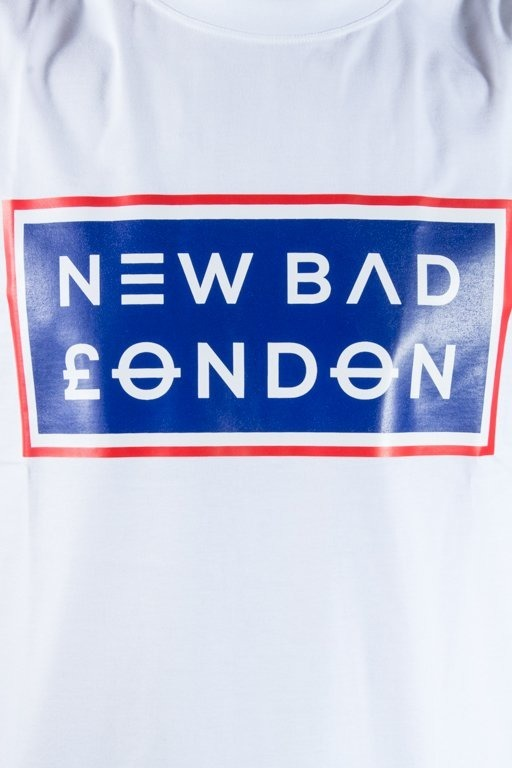 NEW BAD LINE T-SHIRT LONDON WHITE