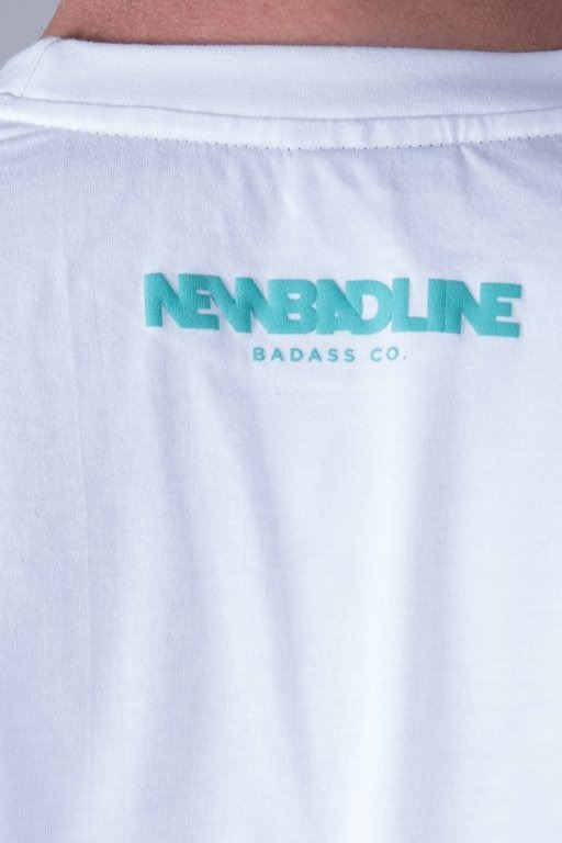 NEW BAD LINE T-SHIRT MARKER WHITE