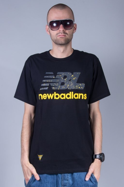NEW BAD LINE T-SHIRT NEWBADLANS BLACK