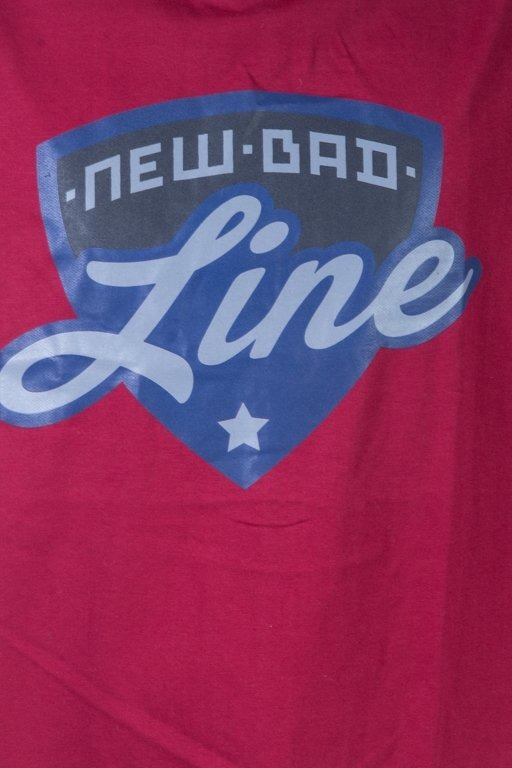 NEW BAD LINE T-SHIRT SHIELD BRICK