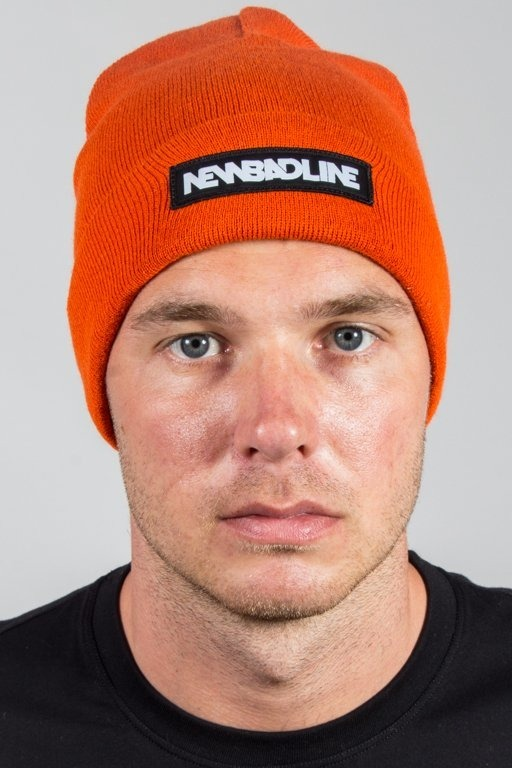 NEW BAD LINE WINTER CAP LOGO ORANGE