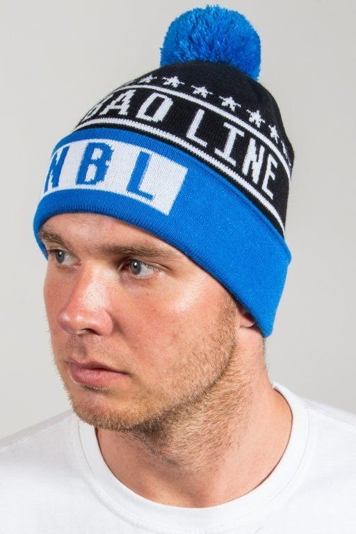 NEW BAD LINE WINTER CAP SWAG BLACK-BLUE