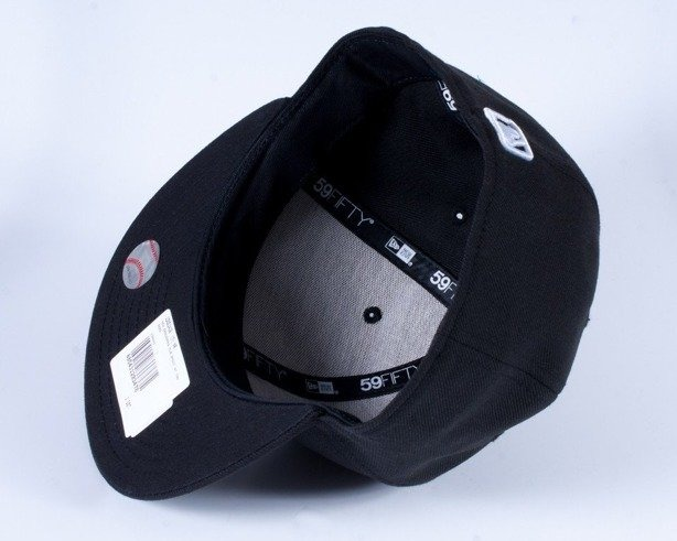 NEW ERA CZAPKA FULL CAP NY BLACK