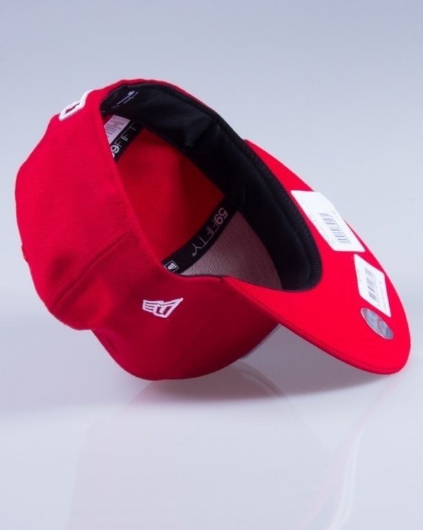NEW ERA CZAPKA FULLCAP MLB BASIC 10011573 RED-WHITE