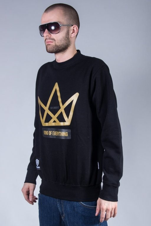 OPONENT CREWNECK KING BLACK