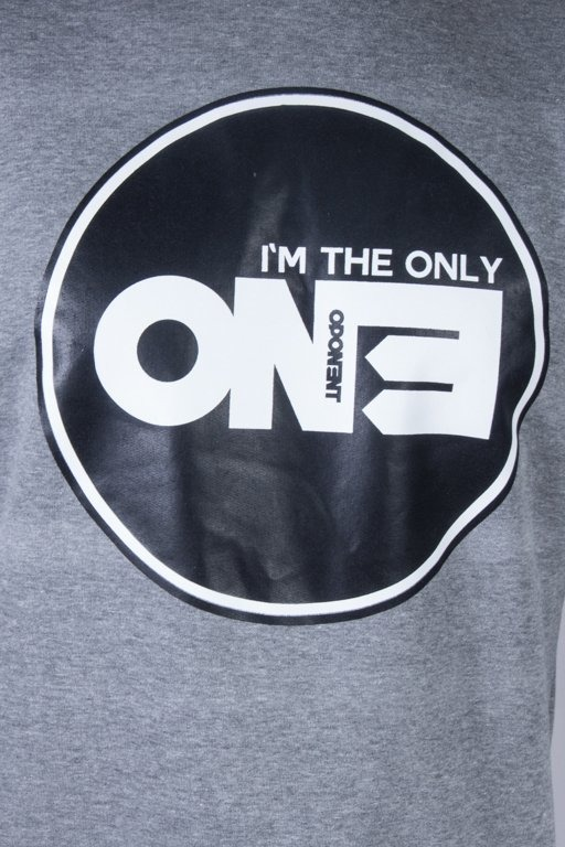 OPONENT CREWNECK ONLY ONE GREY