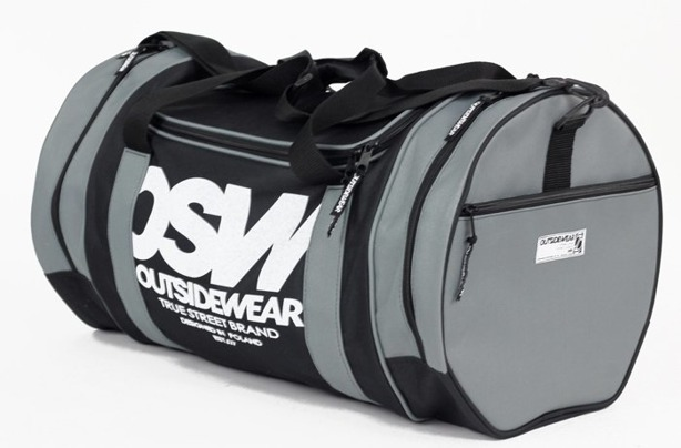 OTSIDEWEAR SPORTS BAG TUBA BLACK