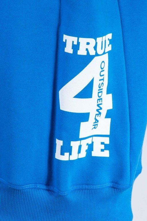 OUTSIDEWEAR BLUZA BEZ KAPTURA OSW4LIFE BLUE-GREY