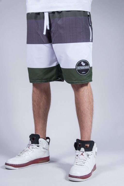 OUTSIDEWEAR SHORTS SURF GREEN