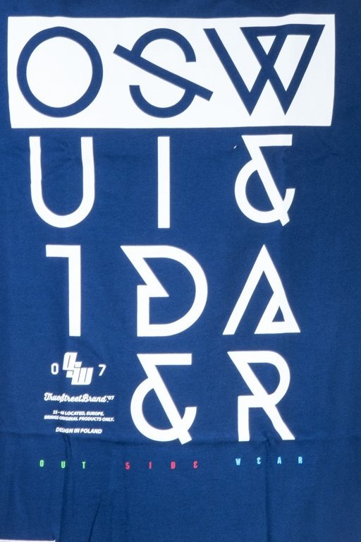 OUTSIDEWEAR T-SHIRT CROOKED2 NAVY