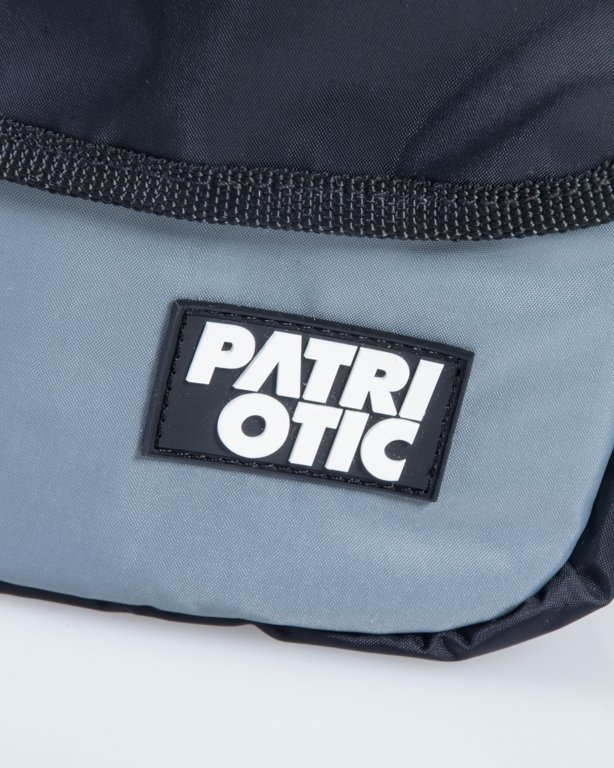 PATRIOTIC BAG NEW BLACK-GREY