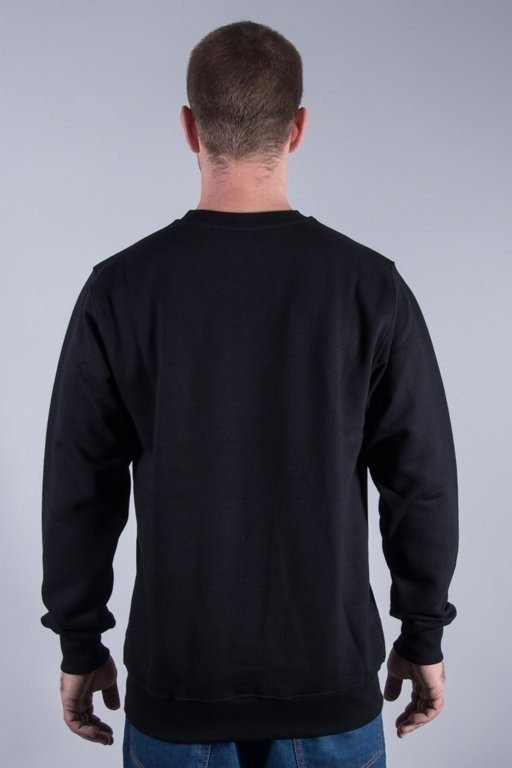 PATRIOTIC CREWNECK CLS FONTS PION BLACK