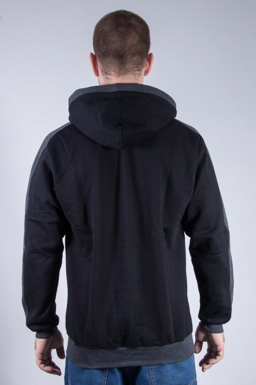 PATRIOTIC HOODIE BASE BLACK-GREY
