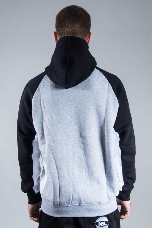 PATRIOTIC HOODIE CLS TRIO BLACK-GREY-WHITE