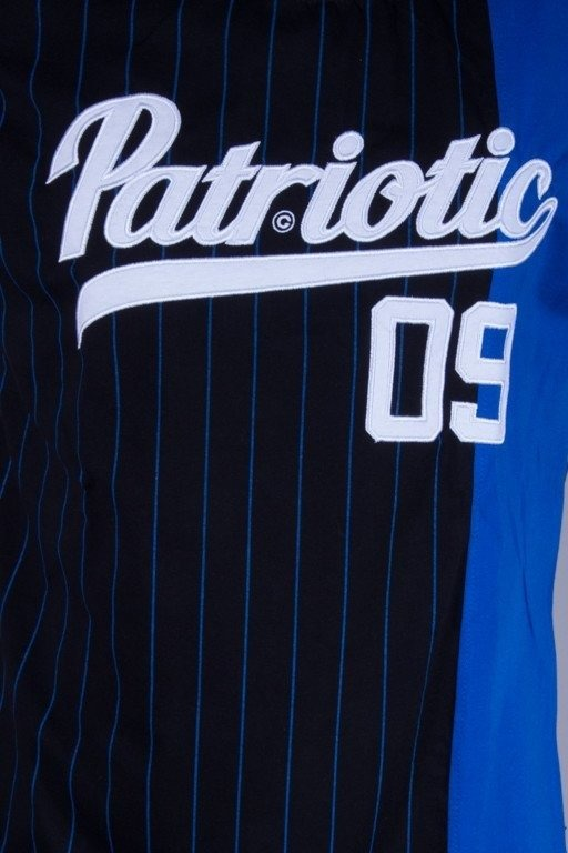 PATRIOTIC KOSZULKA ATHLETIC BLACK-BLUE