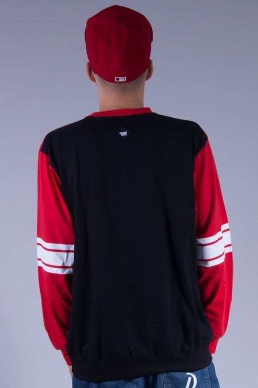 PATRIOTIC LONGSLEEVE BASE SHOULDER BLACK-RED