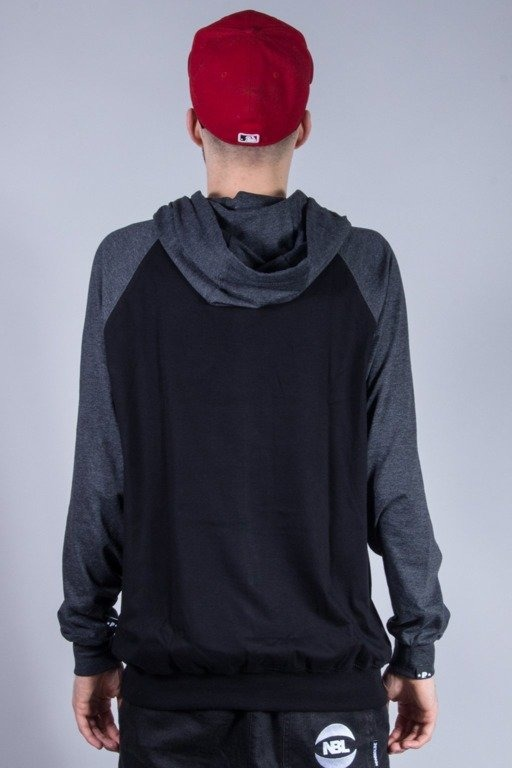 PATRIOTIC LONGSLEEVE Z KAPTUREM BASE BLACK-GREY