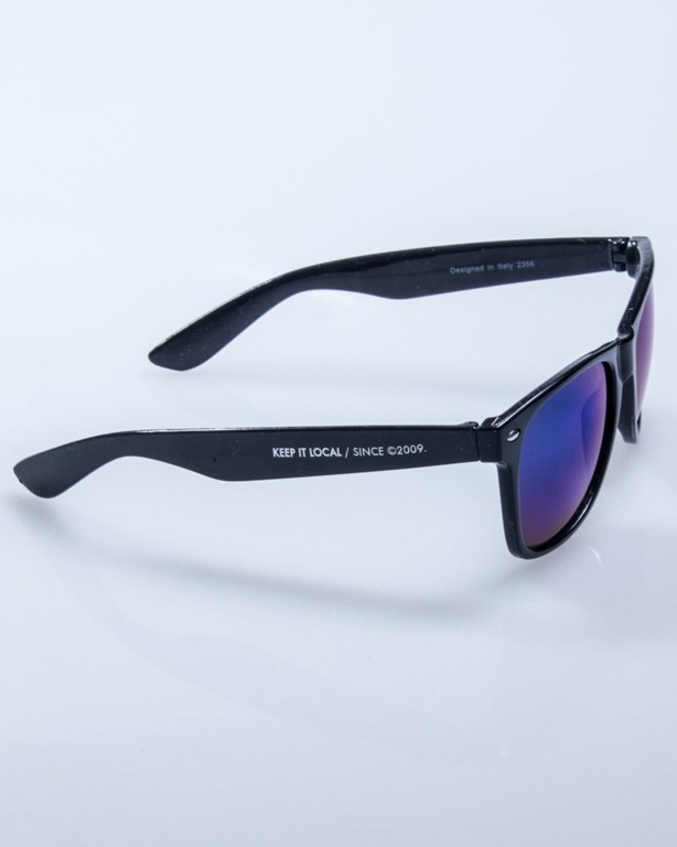 PATRIOTIC OKULARY CLASSIC BLACK-BLUE
