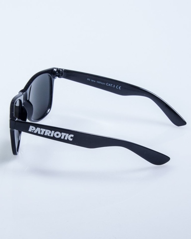 PATRIOTIC OKULARY CLASSIC BLACK-RED