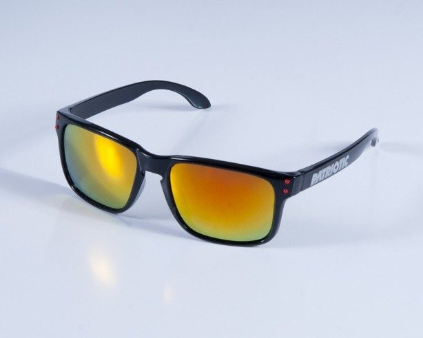PATRIOTIC OKULARY FREESTYLE BLACK-RED COL