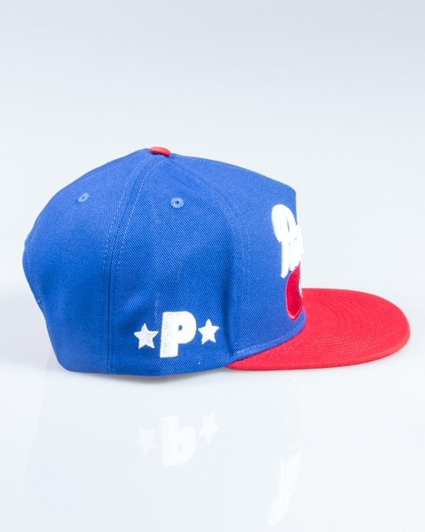 PATRIOTIC  SNAPBACK BASE BLUE