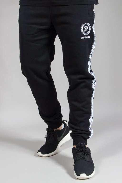 PATRIOTIC SWEATPANTS LAUR TAPE MINI BLACK