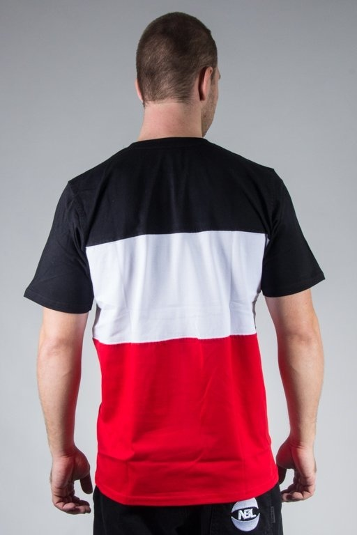 PATRIOTIC T-SHIRT CS TRIO BLACK-WHITE-RED
