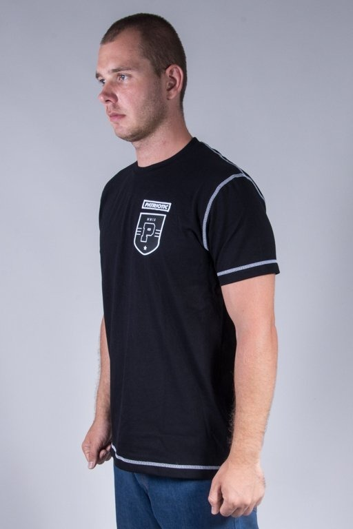 PATRIOTIC T-SHIRT P SHIELD BLACK