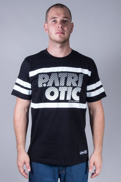 PATRIOTIC T-SHIRT PARTICLES BLACK