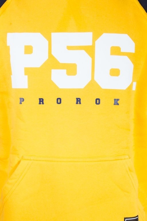 PROROK 56 BLUZA Z KAPTUREM P56 YELLOW