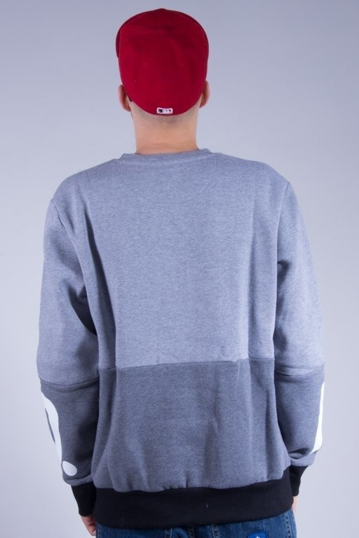 PROSTO BLUZA BEZ KAPTURA ALLEY GREY