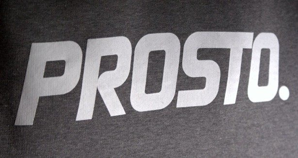PROSTO BLUZA Z KAPTUREM HOCKEY GREY