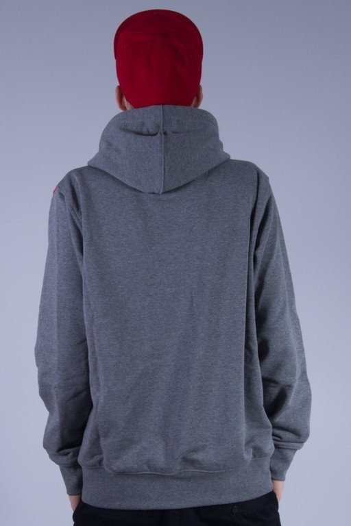 PROSTO BLUZA Z KAPTUREM SHED GREY