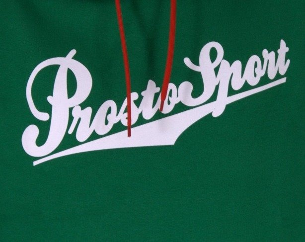 PROSTO BLUZA Z KAPTUREM TEAM GREEN