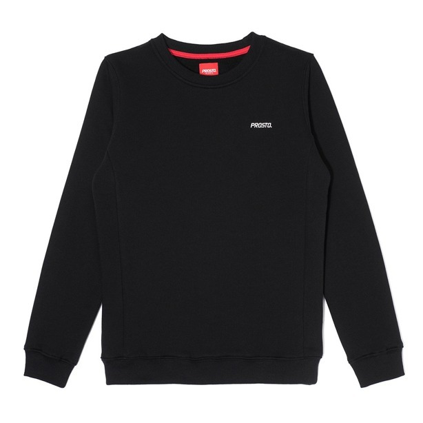 PROSTO CREWNECK WOMAN DARTS BLACK