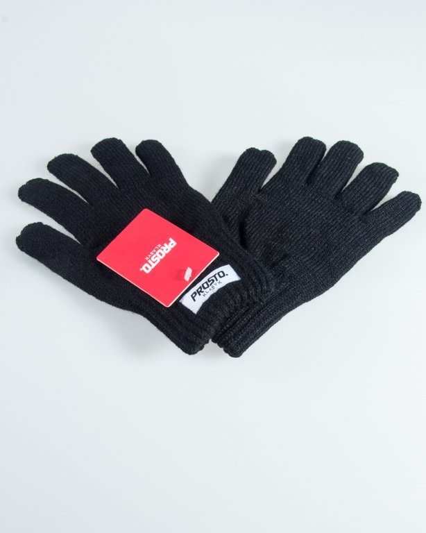 PROSTO GLOVES STICKY BLACK