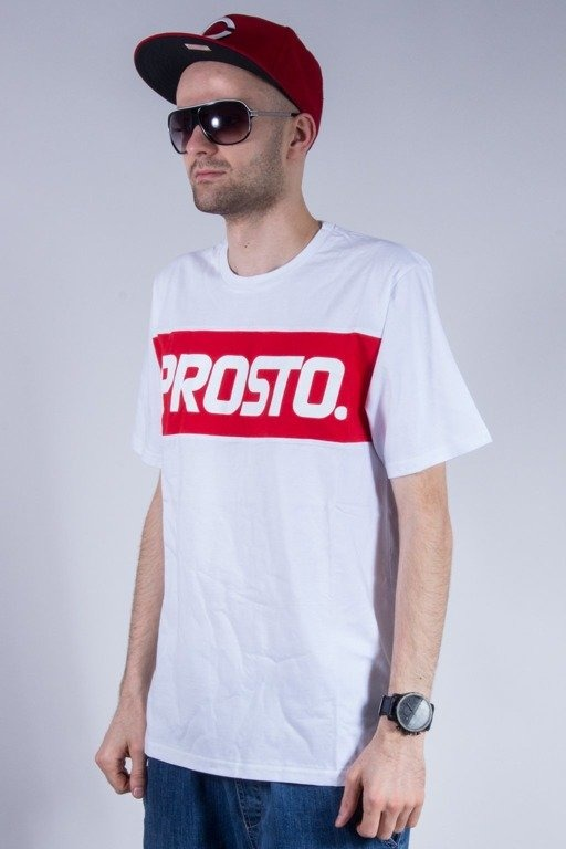 PROSTO KOSZULKA BASIC LEVEL WHITE