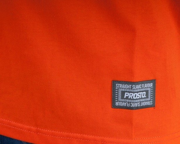 PROSTO KOSZULKA PATCHWORK ORANGE