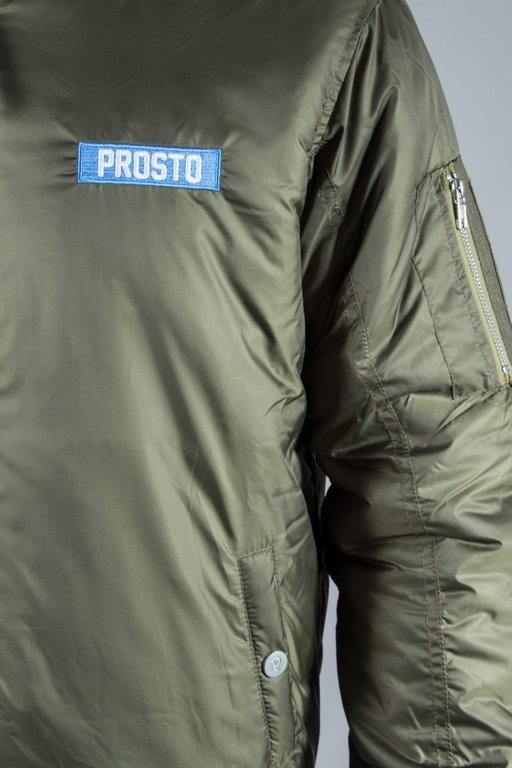 PROSTO KURTKA JKT FLAYER PLAY GREEN