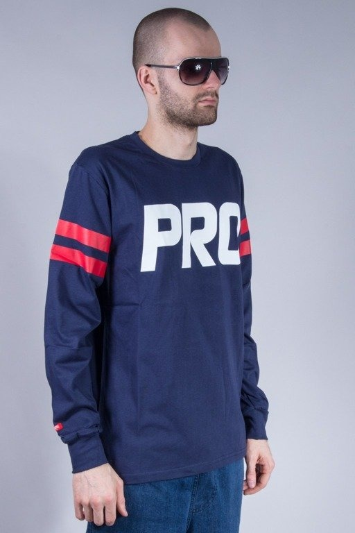 PROSTO LONGSLEEVE STRIPED NAVY