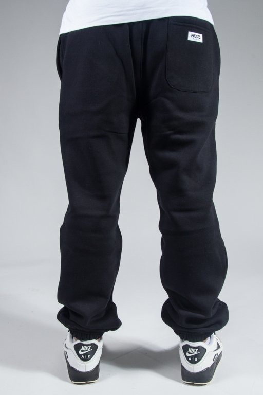 PROSTO SWEATPANTS BASIC BLACK