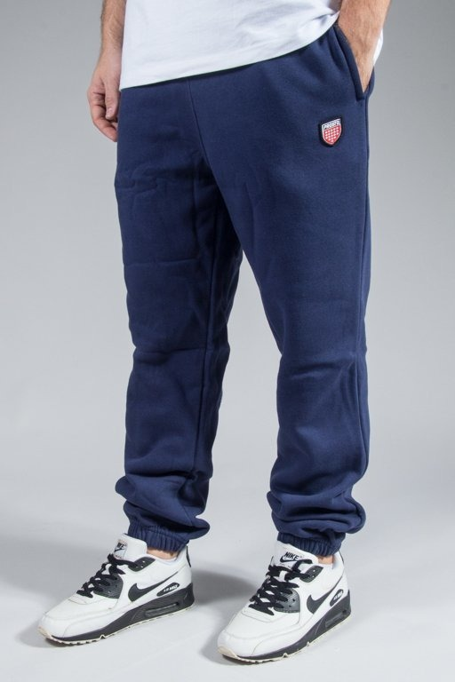PROSTO SWEATPANTS BASIC NAVY