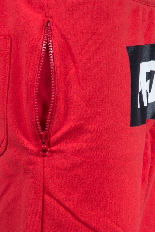 PROSTO SWEATSHORT BOXLOGOP RED